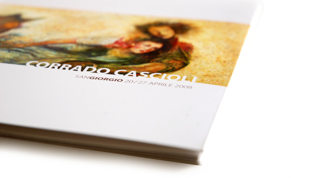 Corrado Cascioli catalogo mostra