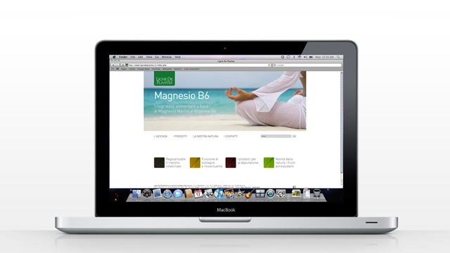 Ligne de plantes sito web la designer comunicazione for Ligne de plantes