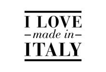 Logo per il progetto I Love Made in Italy