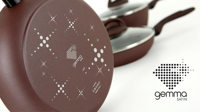 pentole flonal gemma basic satin marchio di prodotto